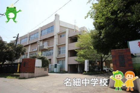 名細中学校(1100m)
