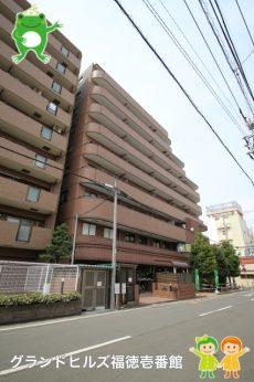 坂戸駅から徒歩1分です。雨が降ってもさっと駅、お家に到着するのは嬉しいですね(2016年4月撮影)