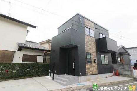 坂戸駅から徒歩13分。閑静な住宅街に立地しています。(2020年1月撮影)